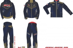 Design Limited Edition gold Navy Blue