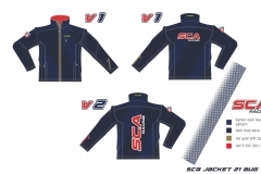 TRAINING JACKET DARK BLUE SCA 19 20
