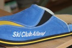 SCA-Pantoffel-blau-gelb
