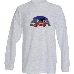 langarm SCA Shirt Grau